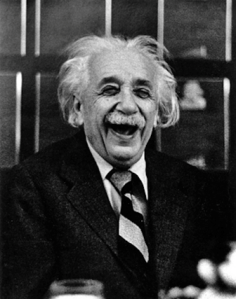 Even real scientists like to laugh.Photo by Ruth OrkinSource: artnet.tumblr.com