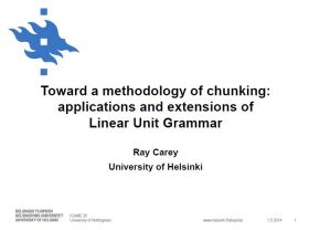Click to view the presentation slides (pdf) that I presented at the ICAME 35 conference.